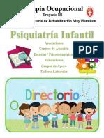 Directorio de Psiquiatría infantil CCs