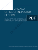 Chicago Police gang database report from Inspector General