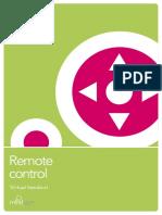 Remote Control Virtual Handout, US