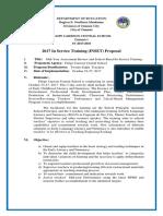 Fccs Proposal Inset 2017