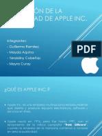 Evolución de La Publicidad de Apple Inc