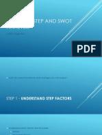 6 STEP SWOT