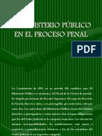 El Ministerio Público en El Proceso Penal