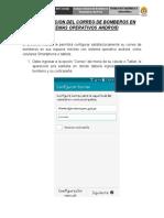 Configuracion Correo Android