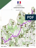 Carte Zone Blanche peste porcine dans le Pays Haut