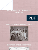 Ascendance of the Chinese Mestizo