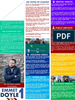 Emmet Doyle's Manifesto