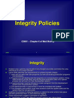 Integrity Policy