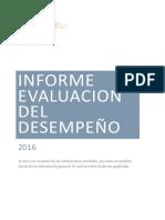 Informe Final 2016 Modificado Mayo Evaluación Desempeño