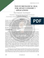 Mechanical Seals Optimization Design