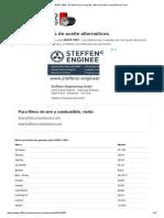 NAPA 7085 - 81 Referencias Cruzadas _ Filtro de Aceite-crossreference.com