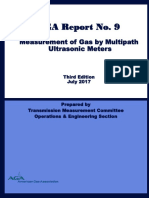 AGA Report No. 9 Measurement of Gas by Multipath Ultrasonic Meters 3rd Ed. 2017.pdf