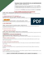 Las 10 Habilidades Necesarias Para Convertirte en Un Emprendedor