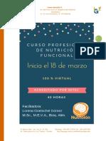 Introduccion Al Curso Profesional de Nutricion Funcional