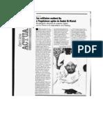 Article de Jeune Afrique publié le 12 juillet 1989