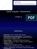 Chapter 8 Linear Impulse - Momentum