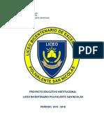 Proyecto Educativo - Liceo Bicentenario San Nicolás.pdf