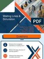 Waiting Lines & Simulation