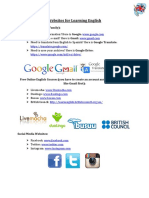 Websites for Learning English.pdf