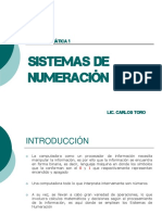 Sistema NuMeRaciOn