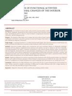 Actividad Funcional y Cambios Sobre El Polo Inferior Patelar