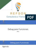 Treinamento SAP -> Debug para Funcionáis