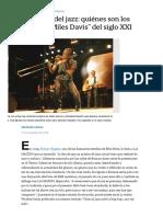 El nuevo auge del jazz_ quiénes son los _Coltrane_ y _Miles Davis_ del siglo XXI