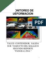 informe monitoreo estructura