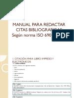 3 MANUAL PARA REDACTAR CITAS BIBLIOGRAFICAS Según norma ISO.pdf