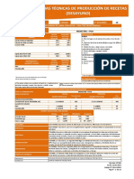 Ficha Tecnica de Produccion Raciones II
