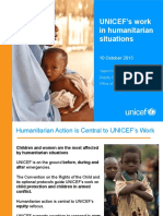 UNICEF Humanitarian Action