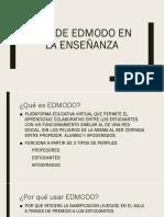 Uso de edmodo en la enseñanza de la.pptx