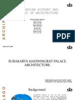 Surakarta Palace Architecture