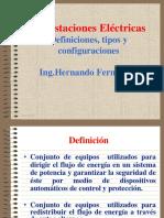 Def, y Conf de subestaciones electricas.