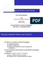 Python Fortran