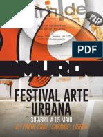 1. Boletim Marco 2016 | Festival de Arte Urbana
