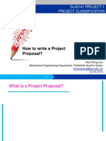 Chapter 1 How to Write an Proposal