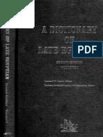 A Dictionary of Late Egyptian. Volume I-II.pdf