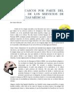 USO DE CASCOS POR PARTE DEL PERSONAL DE LOS SERVICIOS DE EMERGENCIAS MÉDICAS