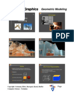 Computer Graphic Modeling