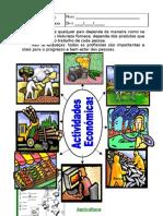 Actividades Económicas - ficha de estudo