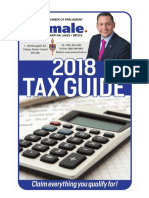 MP Jamie Schmale's 2018 Tax Guide
