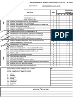 Cronograma de Manutenção de Compressores