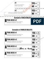 sample ballot and examples
