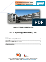Hydrology Lab Proposal Civil Spanish