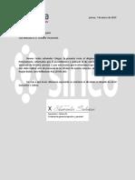 Carta de Juancarlos
