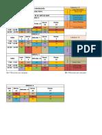 Horarios Rotación Dr. Fierro 1A y 1B