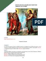 Acatistul Sfinłilor Mai-marilor Voievozi Mihail Şi Gavriil