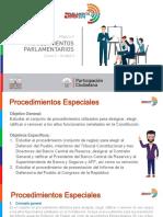 Modulo II - Curso 2 - Unidad 3 - Procedimientos Parlamentarios