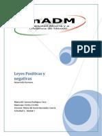 Leyes Positivas y Negativas